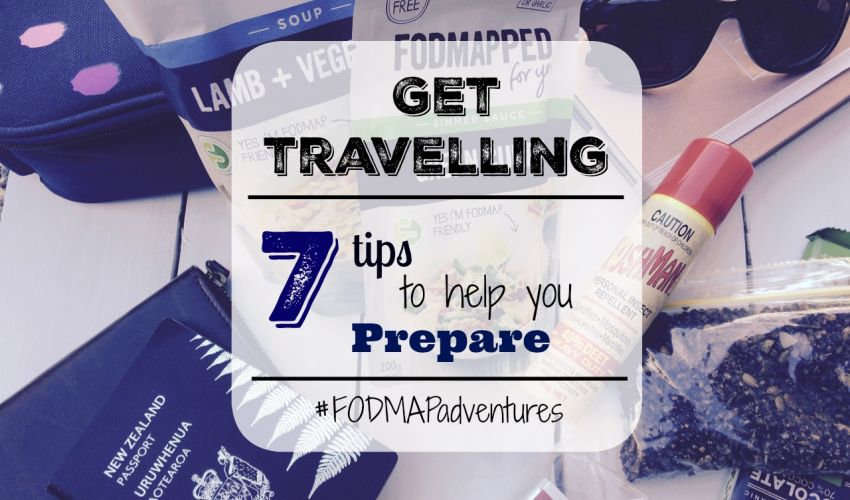 Get Travelling: 7 Low FODMAP Tips